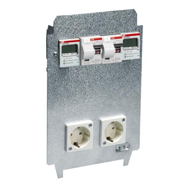 ABB 2CMA177442R1000 Lokerikko sähkömittarilla Nimellisvirta: 10 A
