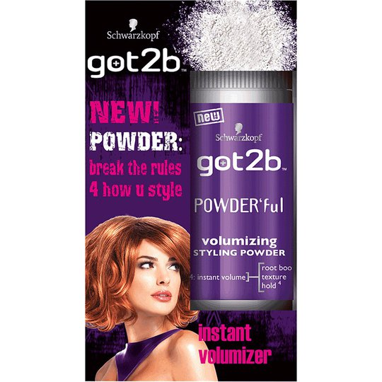 got2b Powder'ful Volumizing Styling Powder, 10 g Schwarzkopf Hiuspuuterit