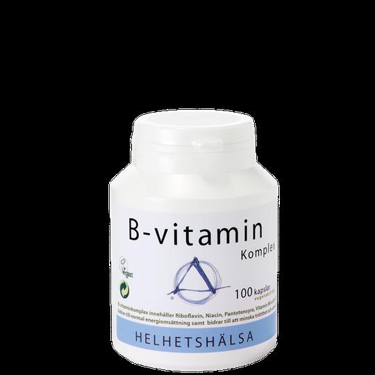 B-vitamin Komplex, 100 kapslar