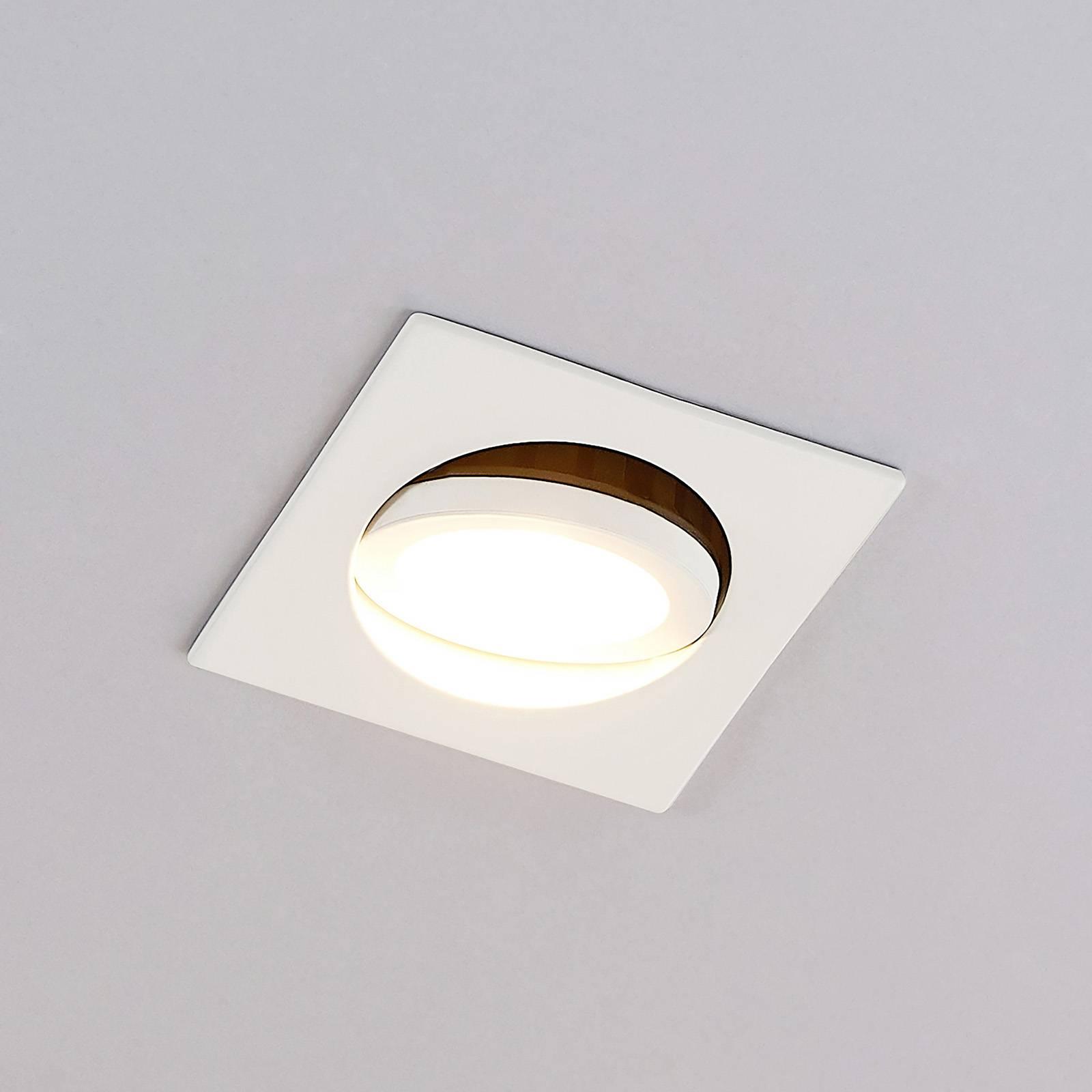 Arcchio Dacio LED-alasvalo kulmikas 36° IP65 6,4W