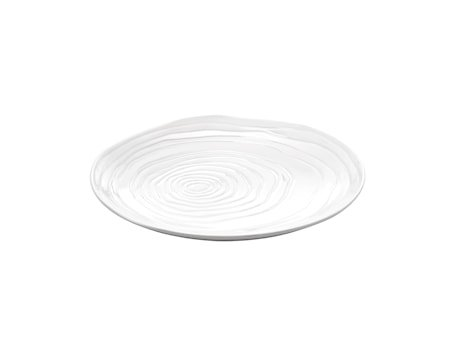 Boulogne tallerken flat hvit, Ø 16,5 cm
