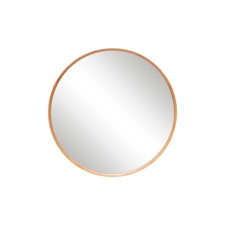 Spegel ø80xh6 cm Natur