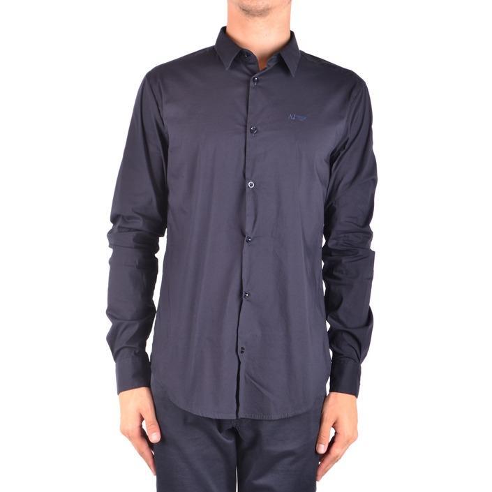 Armani Jeans Men's Shirt Blue 188795 - blue M