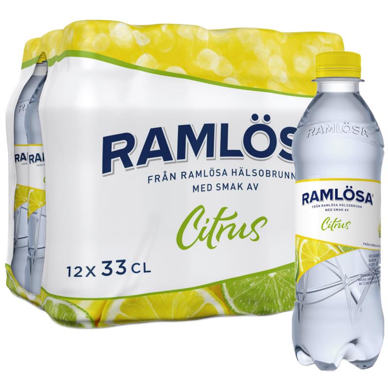Kolsyrat Vatten Citrus 12 x 33cl - 37% rabatt