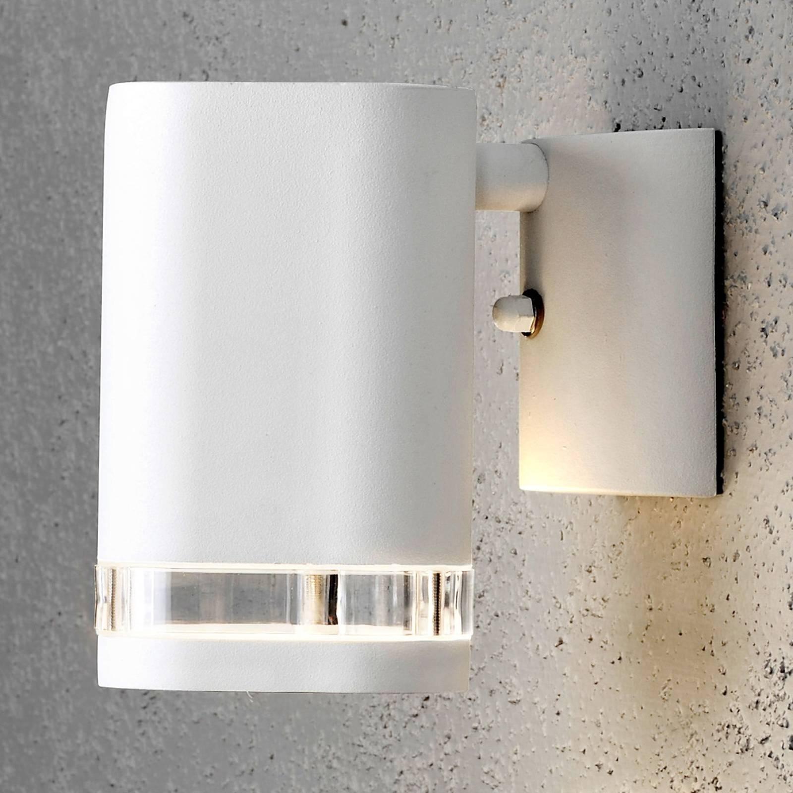 Modena-ulkoseinälamppu, 1-lamp., valkoinen