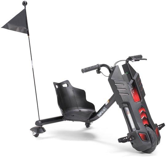 Impulse Elscooter Drifting Trike 100W, Svart
