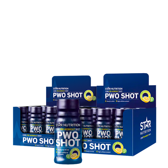 24 x Star Nutrition PWO Shot, 60 ml