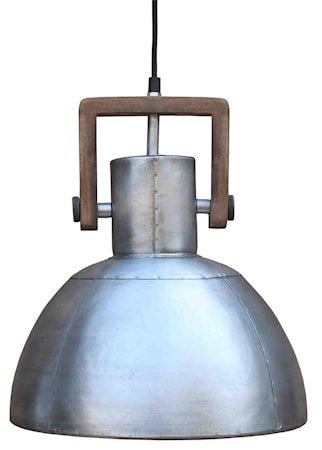Taklampe Ashby Single Sølv