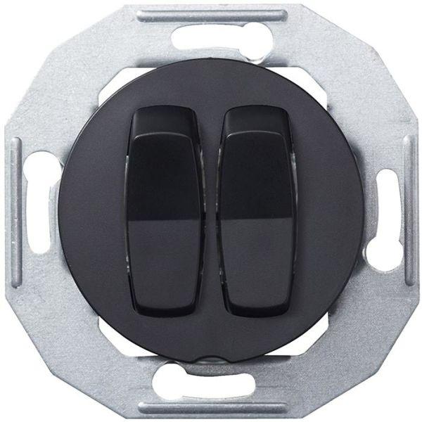 Schneider Electric Renova WDE011216 Vippestrømstiller uten ramme, svart Krone