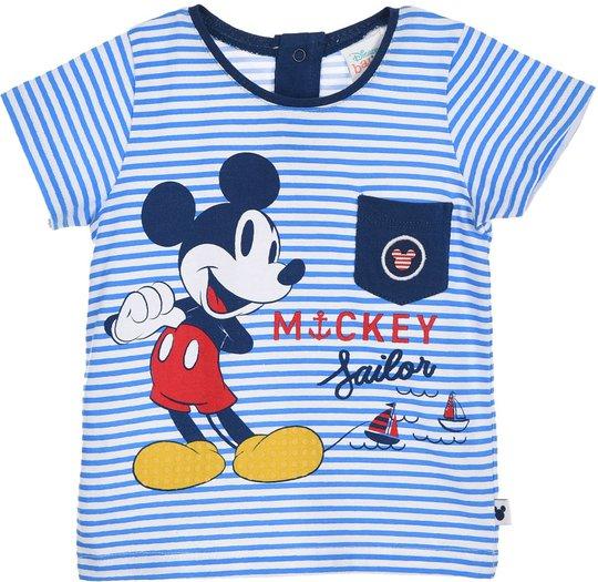 Disney Mikke Mus T-Skjorte, Blue, 6 Måneder