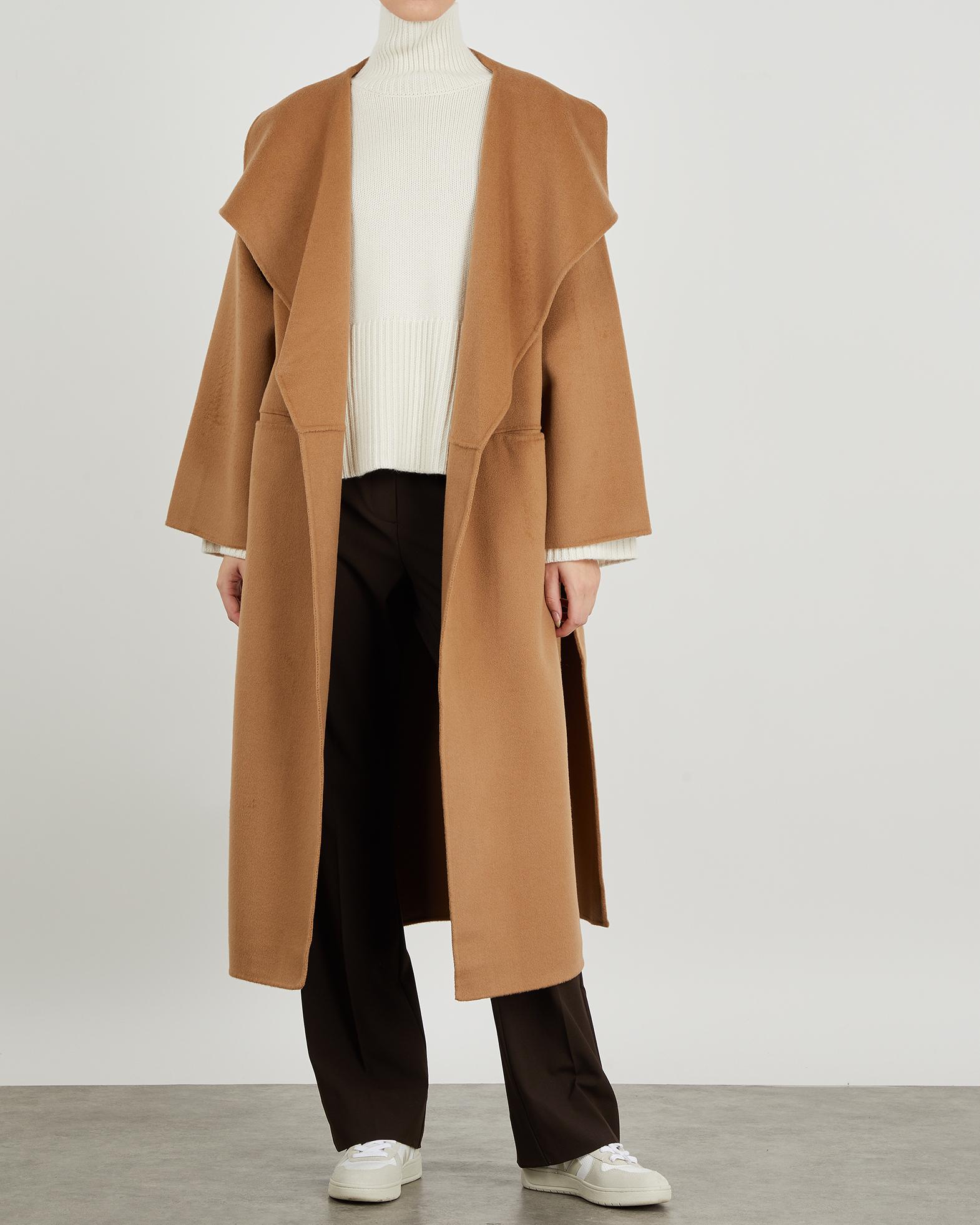 Totême Kappa Signature Wool Cashmere beige XXS
