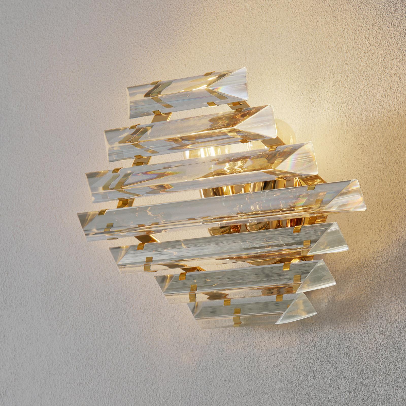 Kultainen kristalliseinävalaisin Losanghe