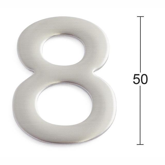 SIFFRA 8 ROSTFRI 50MM