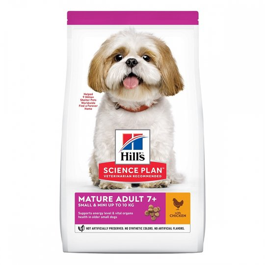Hill's Science Plan Dog Mature Adult 7+ Small & Mini Chicken (1,5 kg)