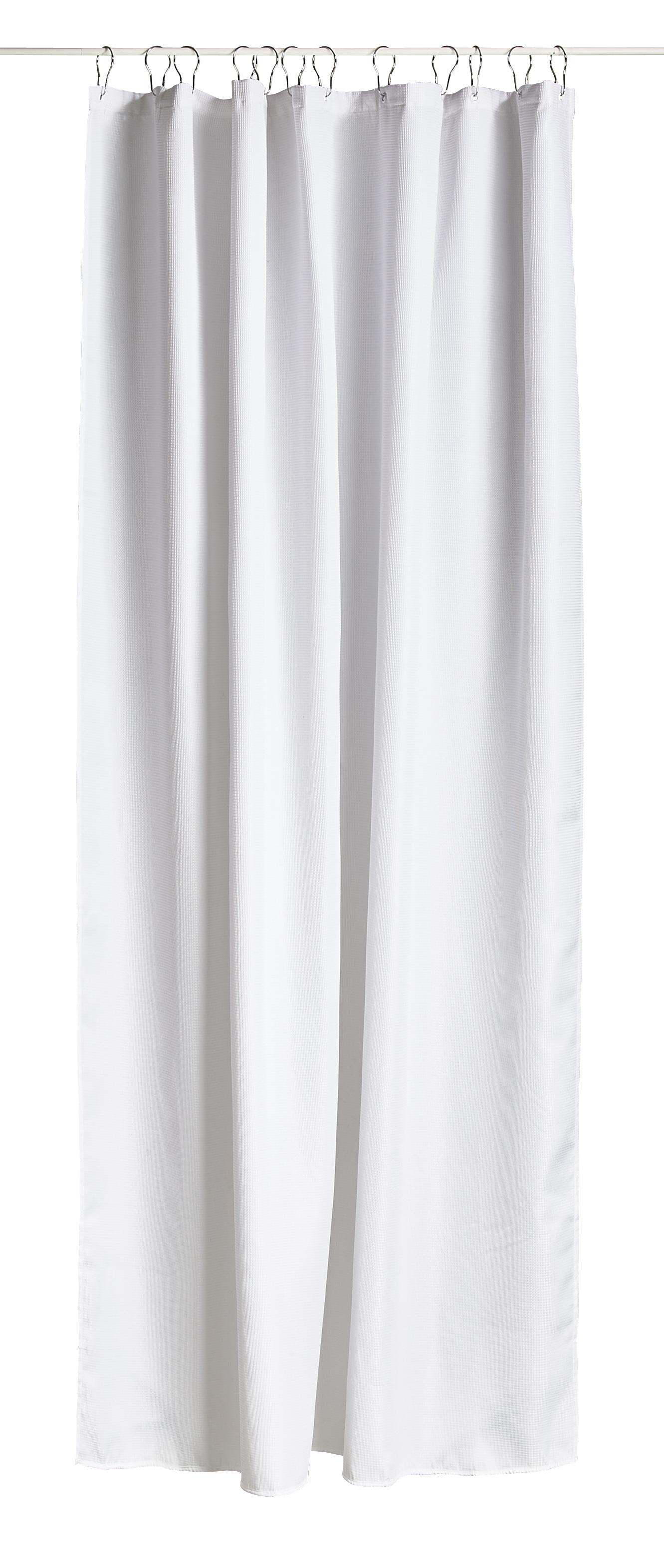 Zone - Lux Shower Curtain - White (330129)