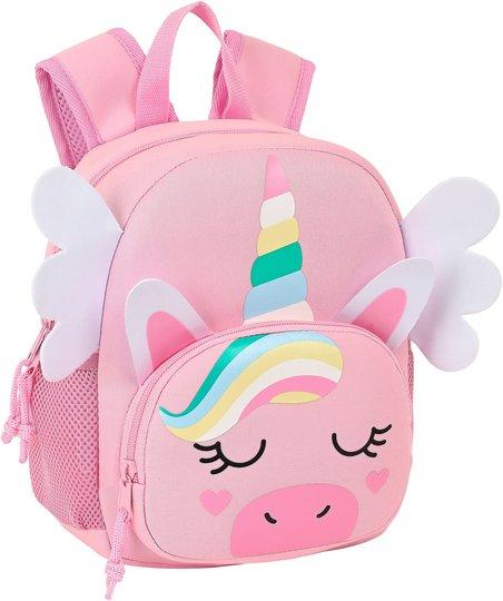 Safta Unicorn Ryggsekk 5L, Pink