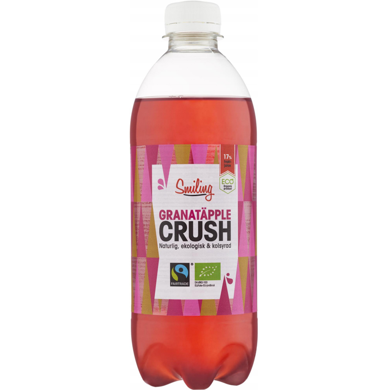 Eko Smiling Crush Granatäpple 50cl - 45% rabatt