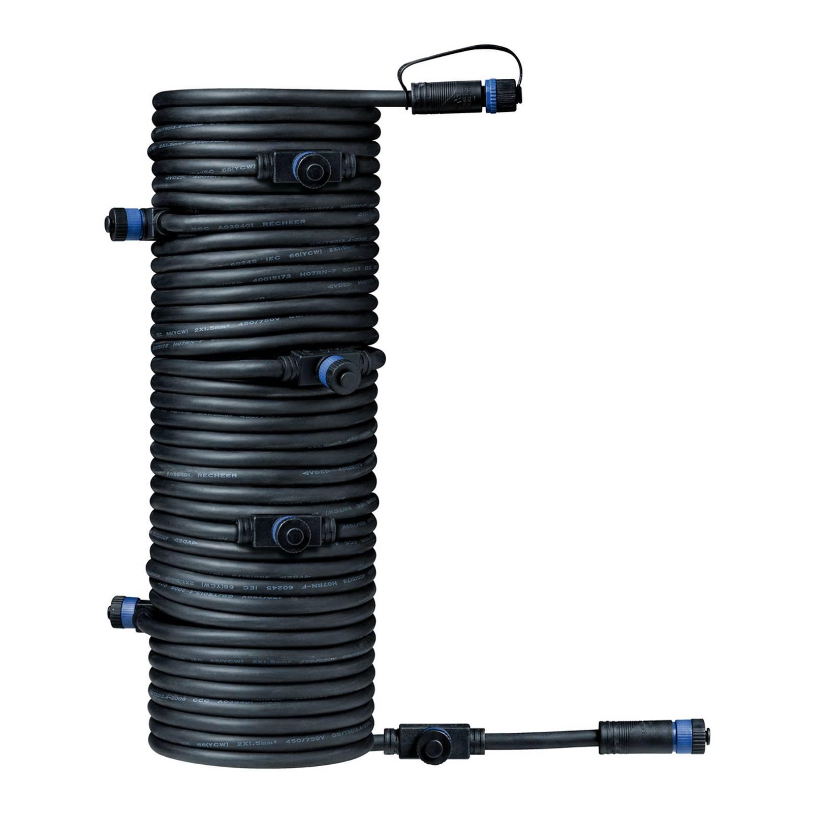 Paulmann Plug & Shine 93931-kaapeli 15m 1 in/7 out