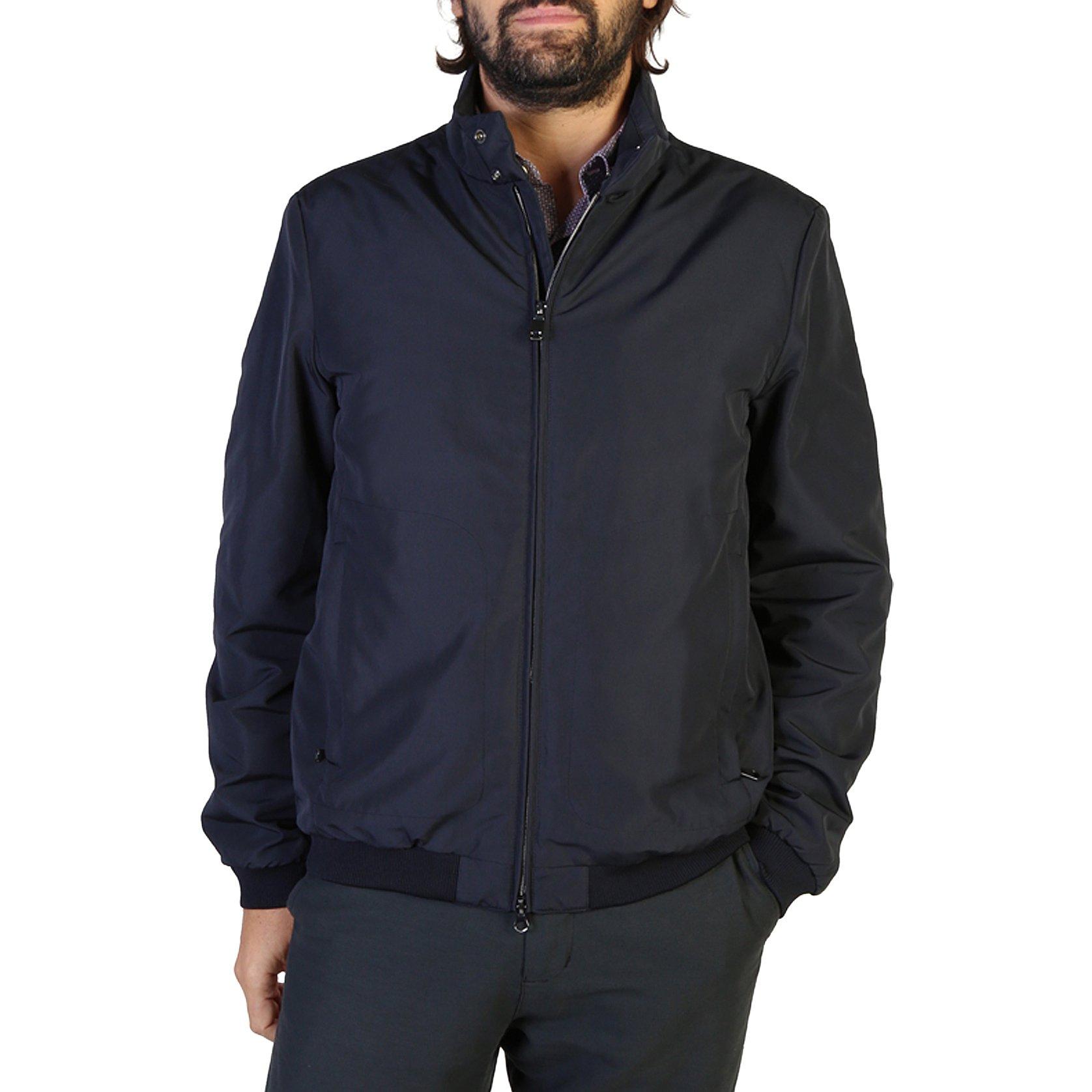 Geox Men's Jacket Blue M8420UT2419 - blue-1 58