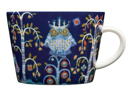 Taika Kaffe/cappuccinokopp 20cl blå