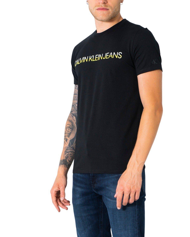 Calvin Klein Jeans Men's T-Shirt Various Colours 304952 - black XS