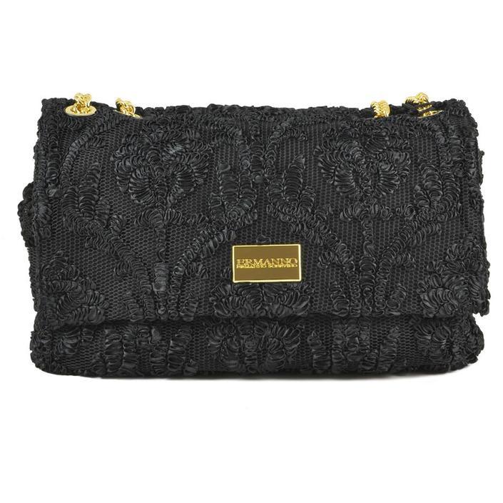 Ermanno Scervino Women's Handbag Black 226429 - black UNICA