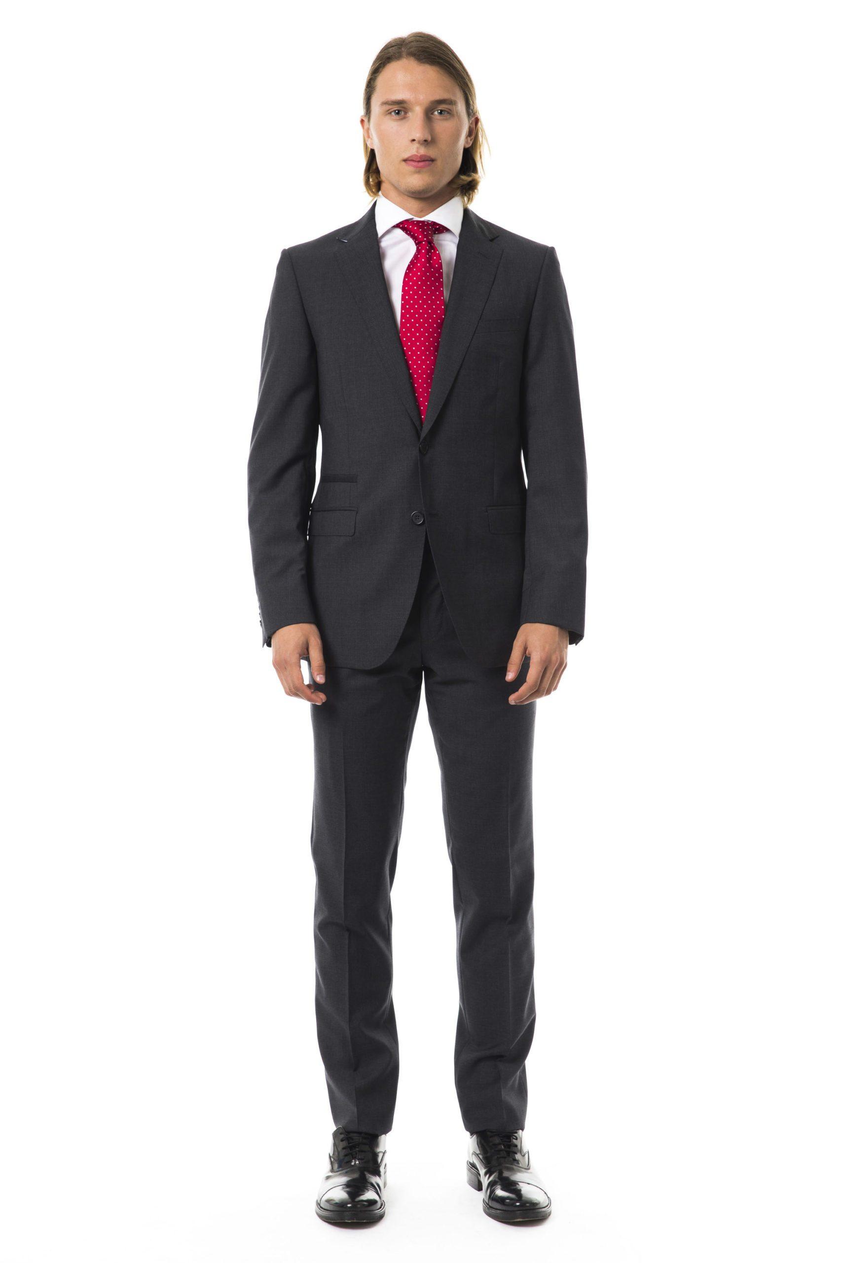 Uominitaliani Men's U Suit Gray UO997256 - IT50   L