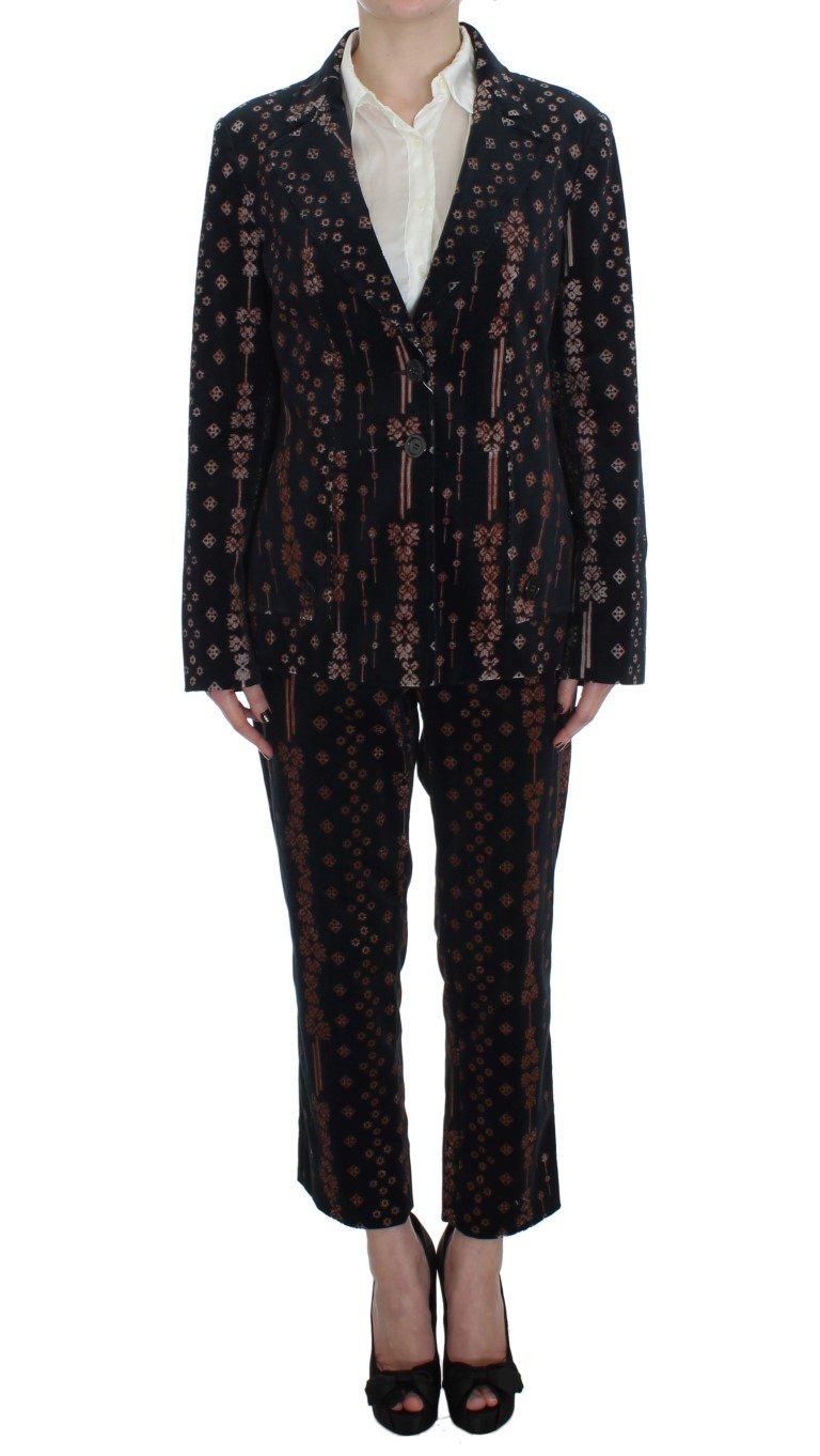 BENCIVENGA Women's Wool Stretch Suit Black SIG30895 - XXL