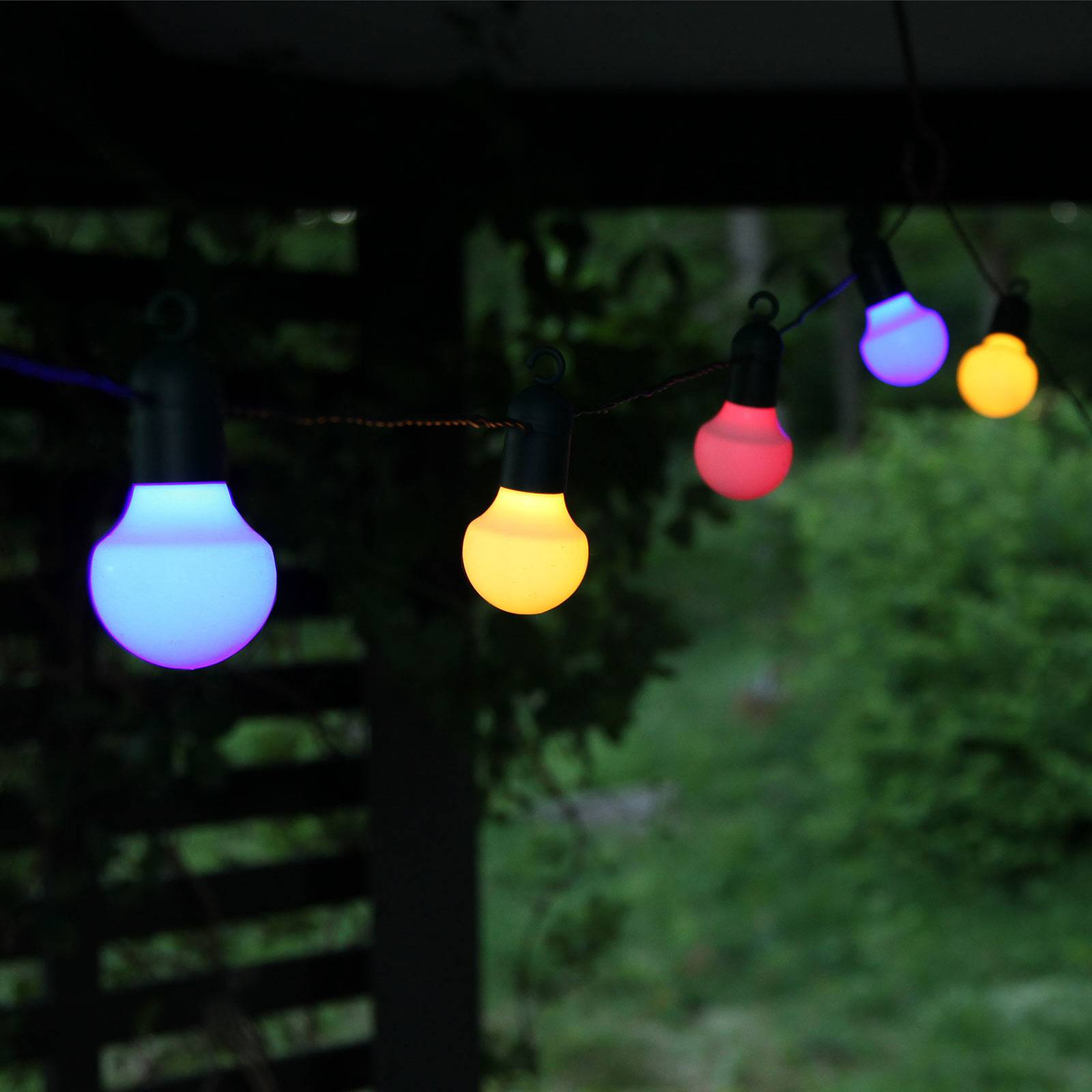 LED-valoketju Hooky RGB