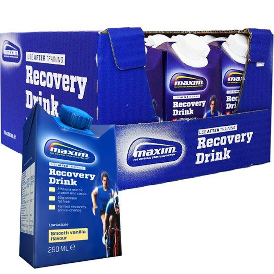 "Hel Låda ""Recovery Drink"" Vanilj 15 x 250ml - 73% rabatt"