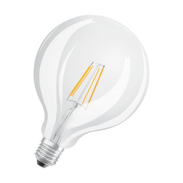 Osram PARATHOM Retrofit CLASSIC GLOBE LED-lampe klar, 2700 K, E27 4W, 470 lm