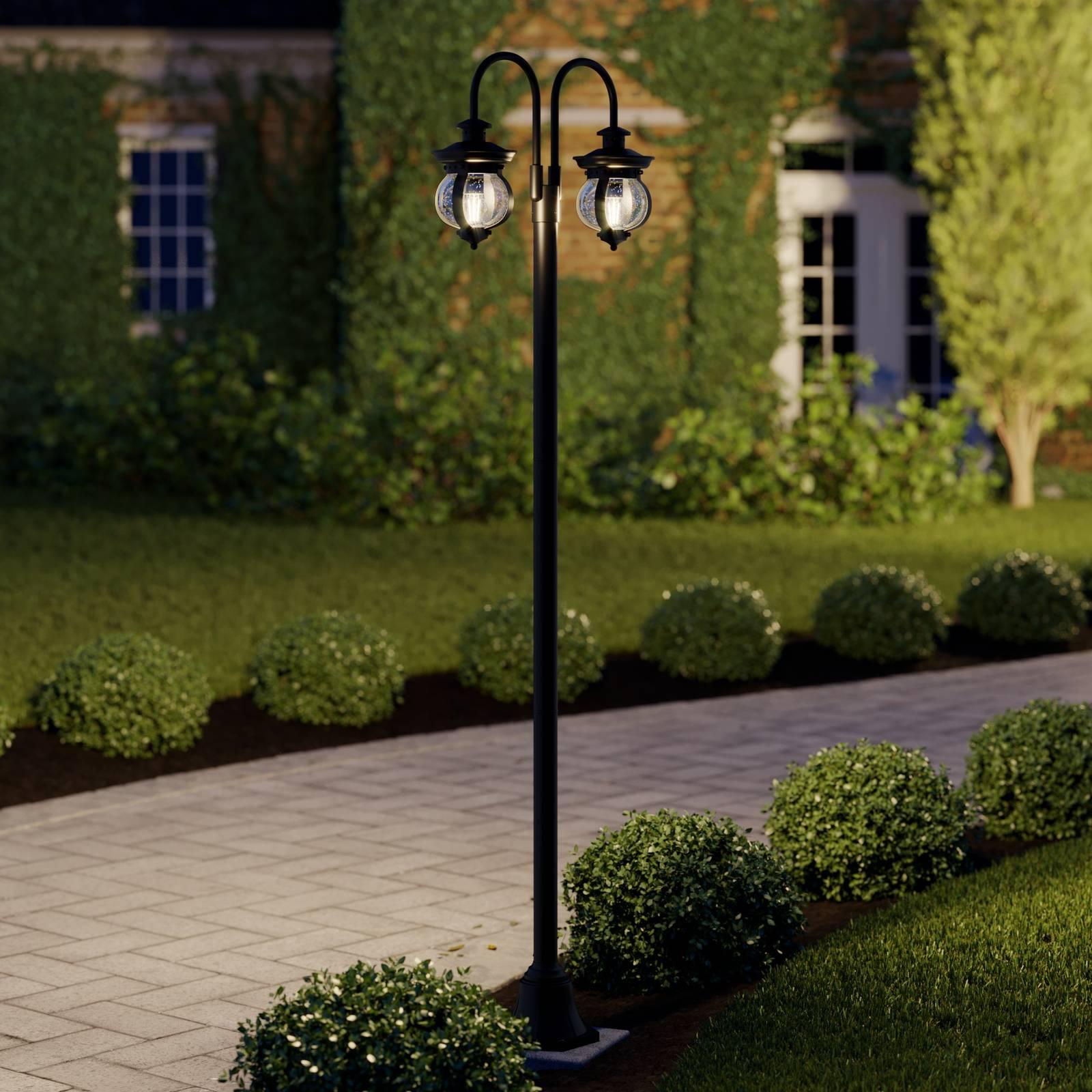 Lindby Farley -pylväsvalaisin, 2-lamppuinen