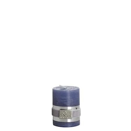 Blockljus Rustic 6 cm Mörkblå