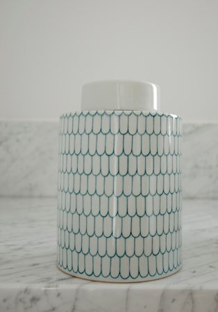Ginza keramikkboks – Celadon, medium