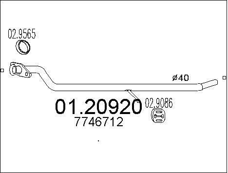 Pakoputki MTS 01.20920
