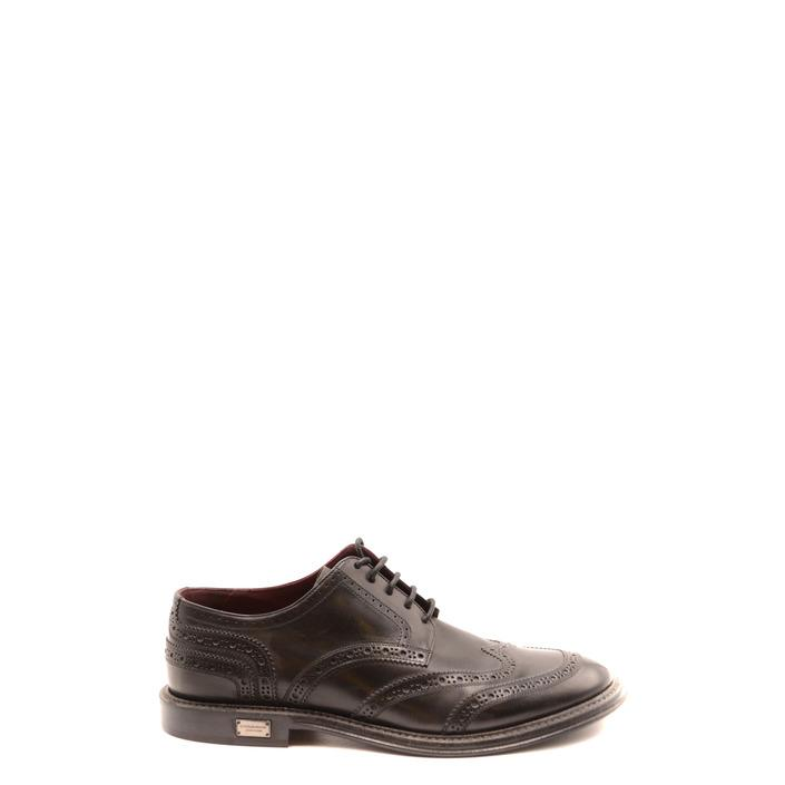 Dolce & Gabbana Men's Lace up Shoe Black 182033 - black 43