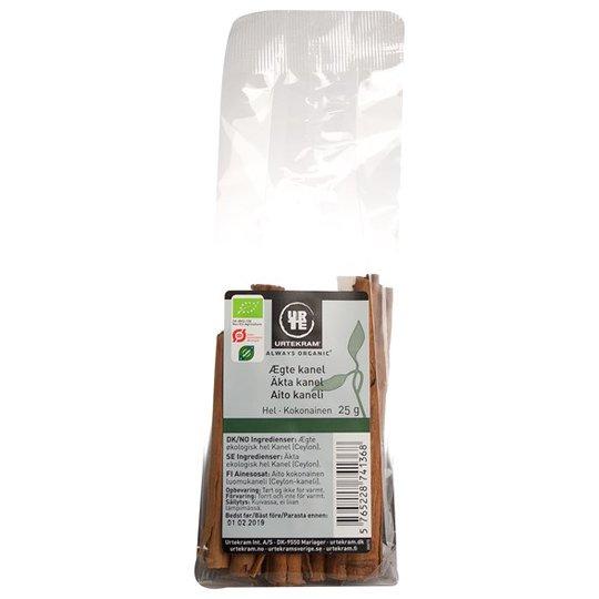 Urtekram Food Äkta Kanelstänger, 25 g