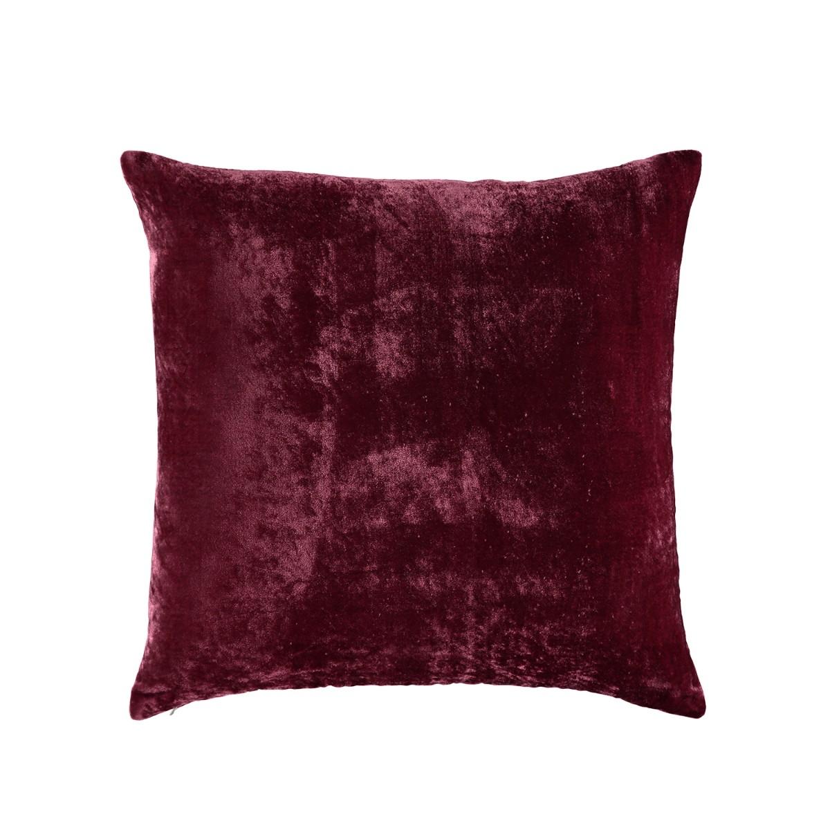 William Yeoward  Paddy Velvet Cushion Plum