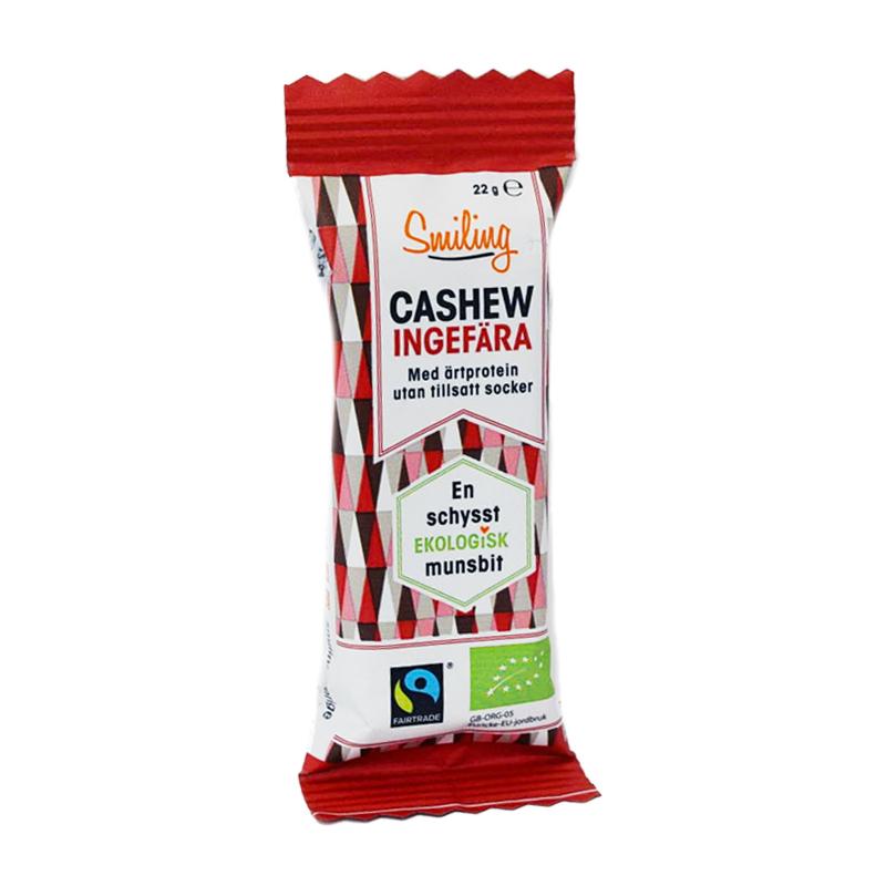 Cashewbar Ingefära - 55% rabatt