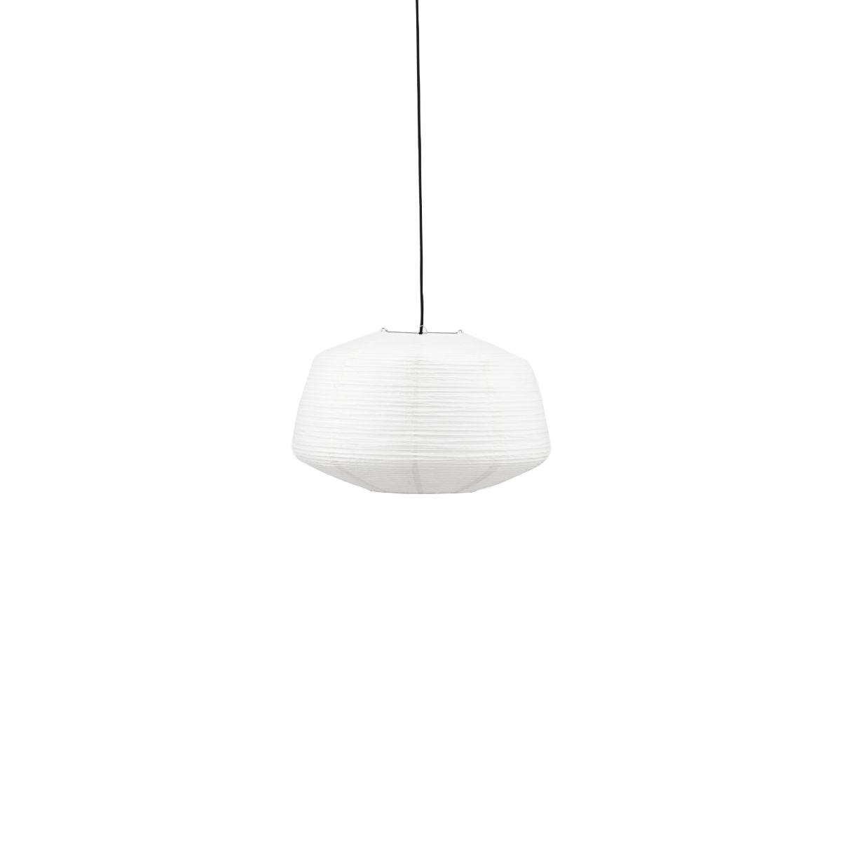 House Doctor - Bidar Lamp Shade Ø 50 cm - White (259370101)