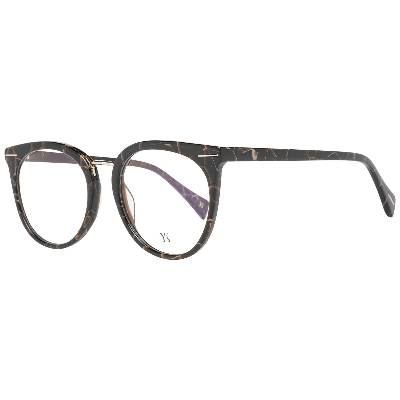 Yohji Yamamoto Men's Optical Frames Eyewear Brown YS1002 51134
