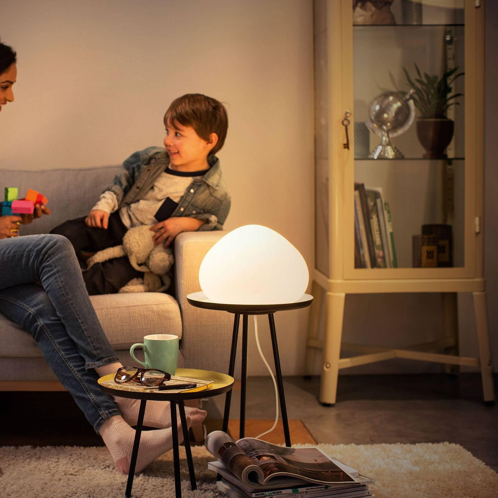 Philips Hue White Ambiance Wellner LED-bordlampe