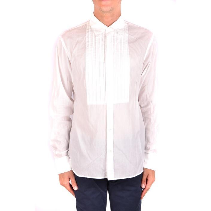 Burberry Men's Shirt White 164190 - white M