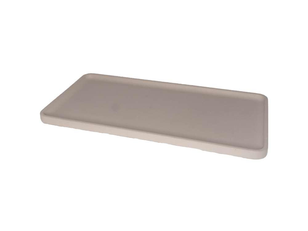 LIKEconcrete - Karin Tray Medium 40 x 20 x 2 cm - Mocca (93769)