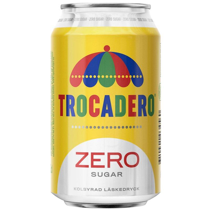 """Virvoitusjuoma """"Trocadero Zero"""" 330ml - 20% alennus"""