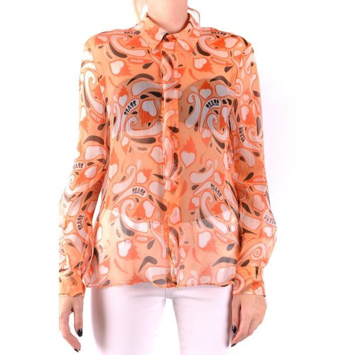 Dondup Women's T-Shirt Orange 164382 - orange 44