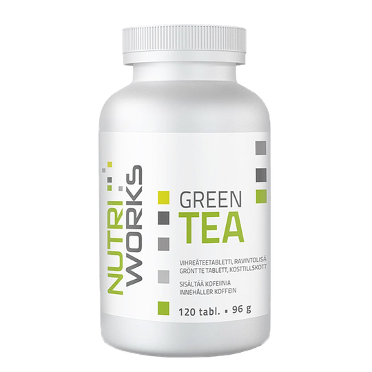 Green tea, 120 tabl