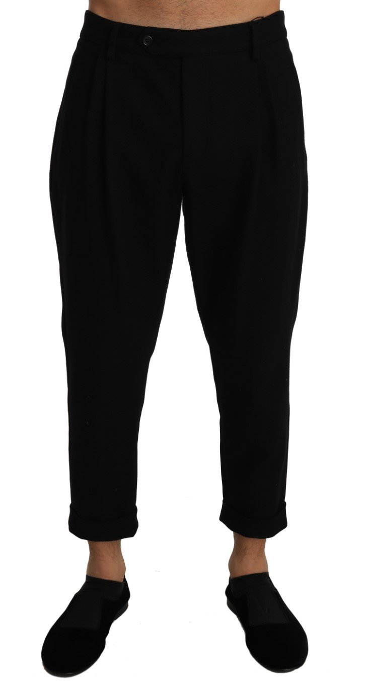 Dolce & Gabbana Men's Wool Slim Cropped Trouser PAN60921 - W36