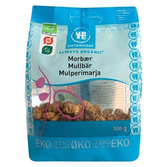 Urtekram Food Mullbär, 100 g