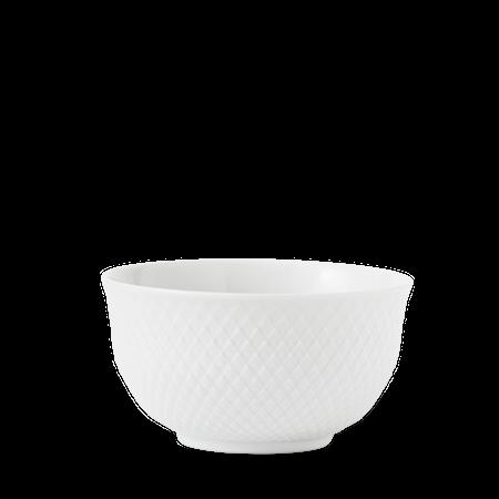 Rhombe Skål Ø13 cm Hvit Porselen